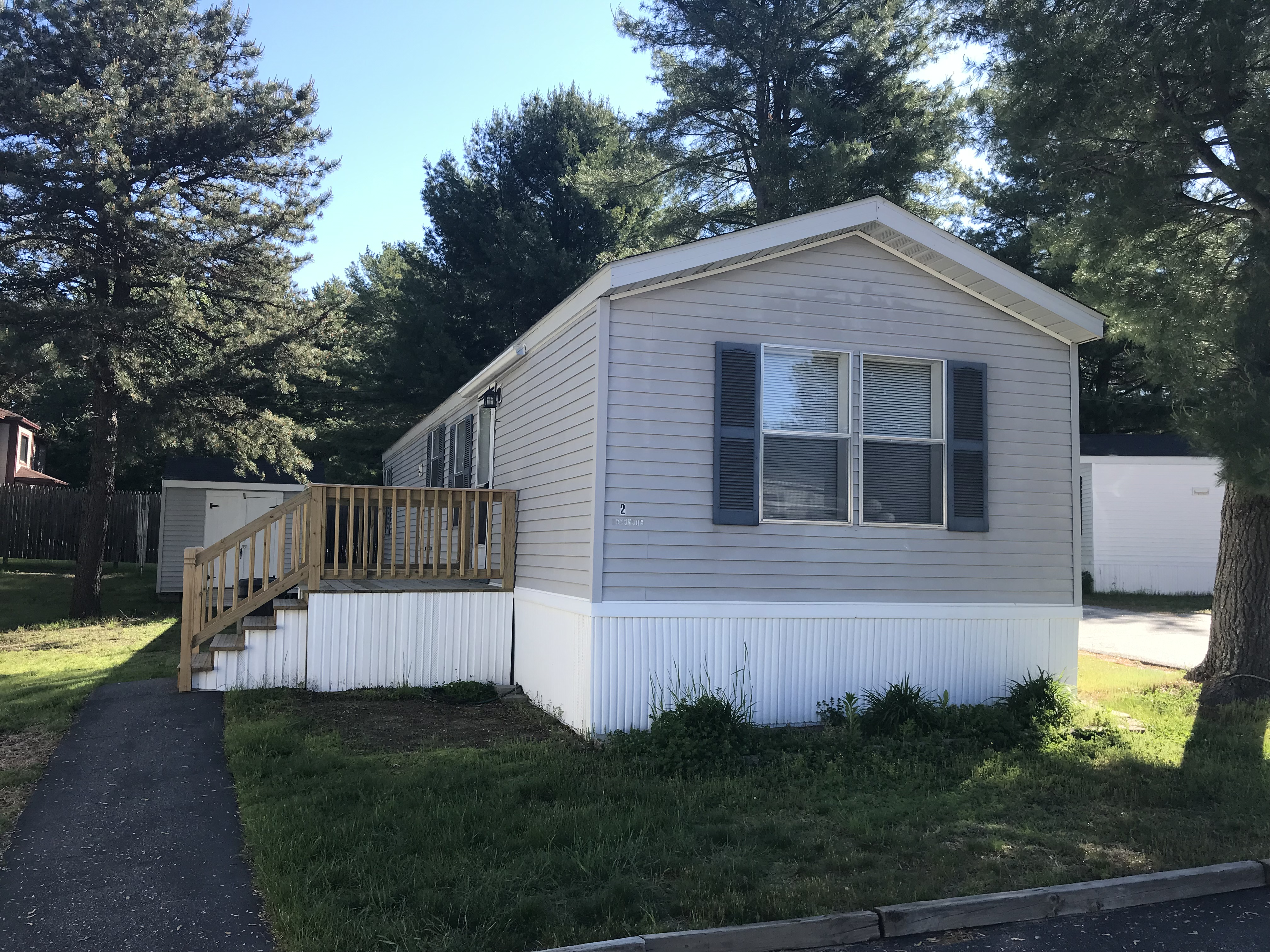 Maine Mobile Home For Sale at 2 Mayflower Dr Old Orchard Village